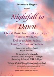 Nightfall to Dawn poster
