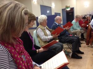 A recent Beaumaris Singers rehearsal