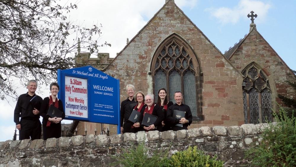 Beaumaris Singers at Lilleshall